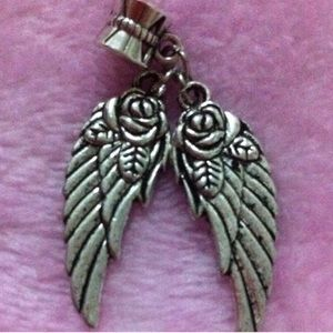 Angel Wings Charm Pendant